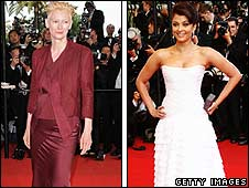 Tilda Swinton and Aishwarya Rai Bachchan
