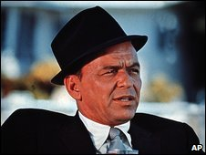 Frank Sinatra, pictured in 1970