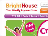 BrightHouse logo and homepage