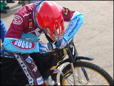Lakeside Hammers speedway rider
