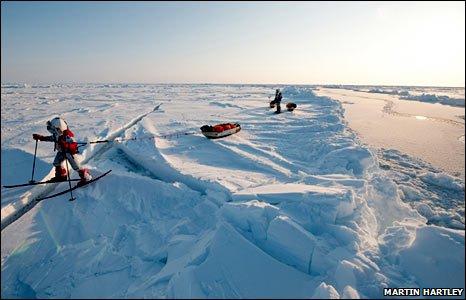 Arctic trek (Martin Hartley)