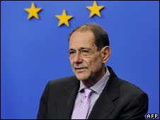 EU foreign policy chief Javier Solana