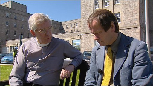 Reverend David Randall and Reverend Ewen Gilchrist