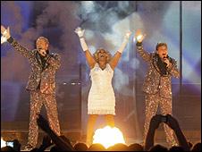 Dutch Eurovision group De Toppers