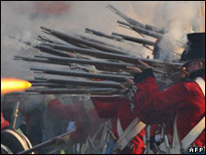 Battle of Waterloo re-enactment