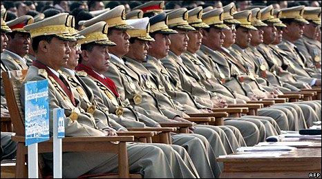 Burma's generals