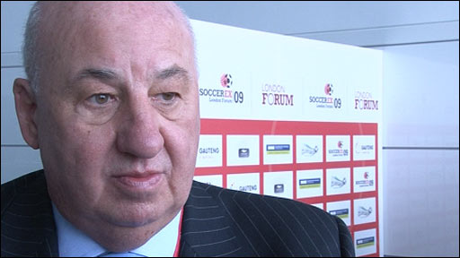Rangers chairman John McLelland