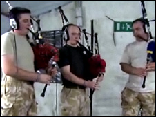 Royal Scots Dragoon Guards in Basra