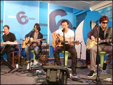 Manic Street Preachers in the 6 Music hub