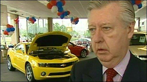 GM car dealer Bob Maguire