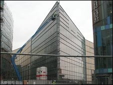 John Lewis store in construction