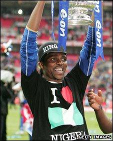 Footballer Nwankwo Kanu