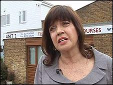 Barbara Follett MP speaking to the BBC on Thursday