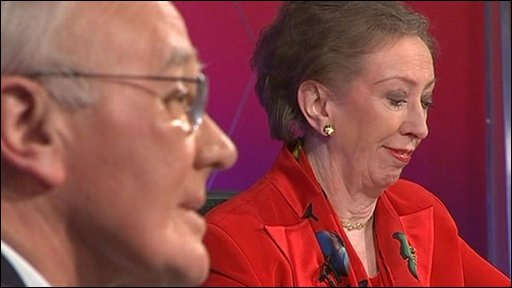 Sir Menzies Campbell and Margaret Beckett