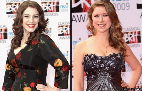 Elizabeth Watts and Hayley Westenra