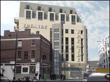 Artist's impression of Westminster Theatre
