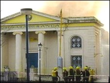 Fire at Gurdwara Sikh Sangat