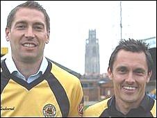 Rob Scott and Paul Hurst
