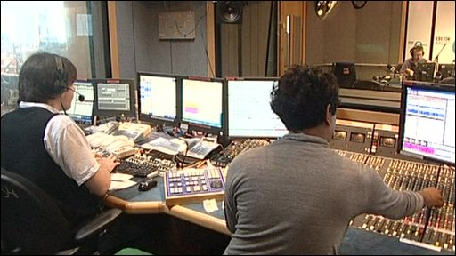The Radio Five Live studio