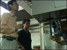 Malvin Khoo at his factory