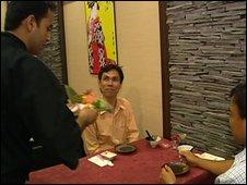 Malvin Khoo at Megumi Japanese restaurant