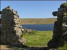 Finlaggan ruins