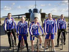 RAF competitors