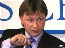 Russian gay rights activist Nikolai Alexeyev, May 5, 2009