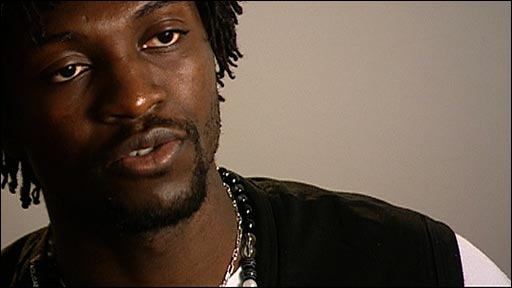 Arsenal striker Emmanuel Adebayor