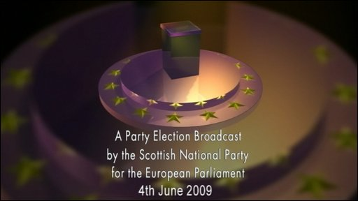 Scottish National Party election broadcast