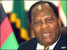 File picture of former Malawi President Bakili Muluzi