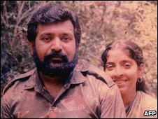 Image said to be of Tamil Tiger leader Velupillai Prabhakaran (released by Sri Lanka government)