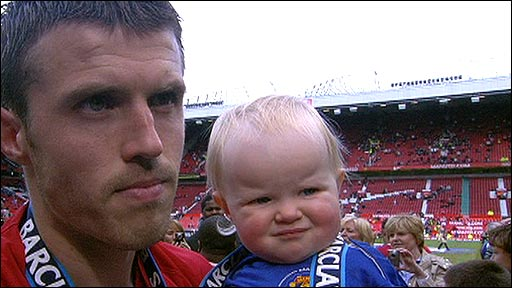 Michael Carrick and family