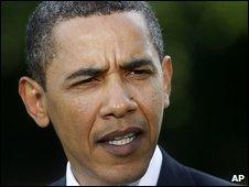 Barack Obama in Washington, 13 May 2009