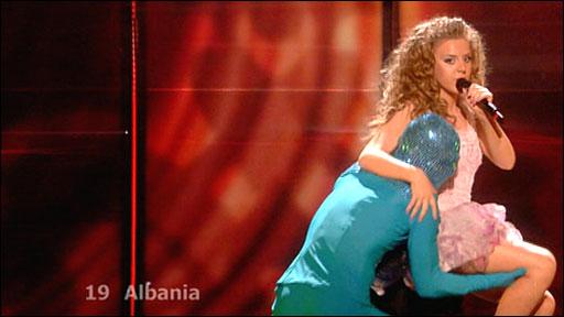 Albania's entry
