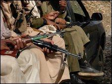 Taleban militants in Pakistan
