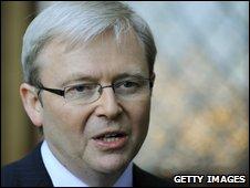 Kevin Rudd file pic