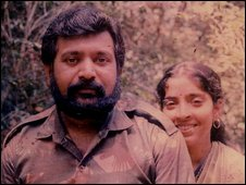 Velupillai Prabhakaran, pictured in his family album (Photo released by Sri Lankan government)