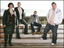 Gavin & Stacey cast in Barry