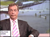 Nigel Farage, MP, leader UKIP