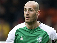 Hibernian captain Rob Jones