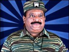 Tamil Tiger leader Velupillai Prabhakaran
