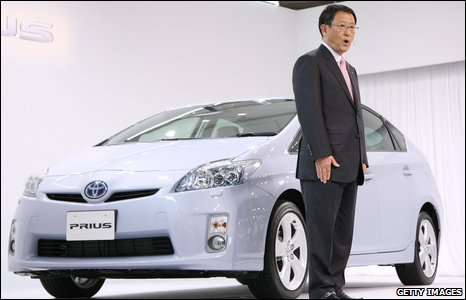 Toyoda and Prius