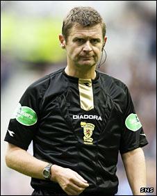 Scottish referee Stuart Dougal