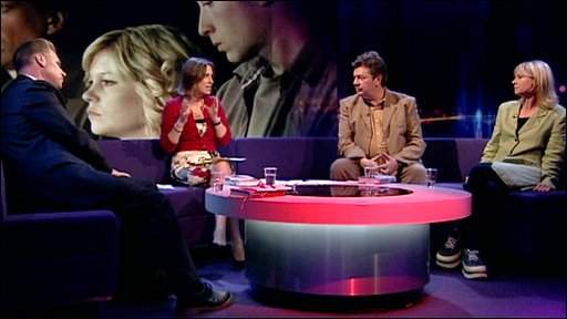 Mark Kermode, Kirsty Wark, David Aaronovitch and Kate Mosse