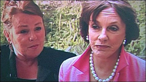 Esther Rantzen and Margaret Moran