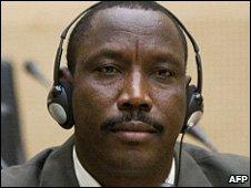 Bahr Idriss Abu Garda in court