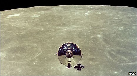 Apollo 10 Command and Service Modules after separation (Nasa)