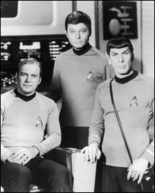 Kirk, Bones and Spock
