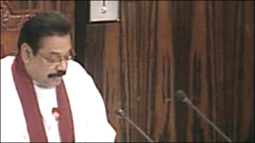 President Rajapakse